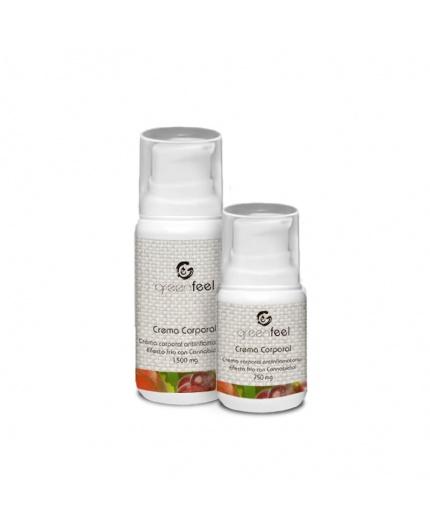 Crema antiinflamatoria efecto frío CBD