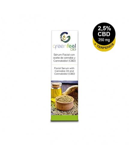 Serum facial Bio CBD 2.5% + terpenos hash